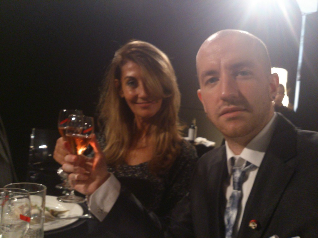 Princes maryia and jorge rurikovich vips at gourmet - Raquel chamorro ...