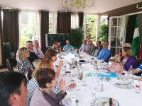 Humanitarian Lunch of Rotary International Club in Marbella