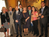 Prince Jorge Rurikovich and Princess Maryia invited for The Diplomat at Casamerica