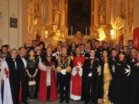 Grand Prince Jorge Rurikovich took honors at The Investiture of Knights and Dames of The Order of Malta O.S.J.
