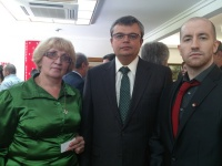 Prince Jorge Cabrera Rurikovich meets The Ukrainian Ambassador Serhii Pohoreltsev